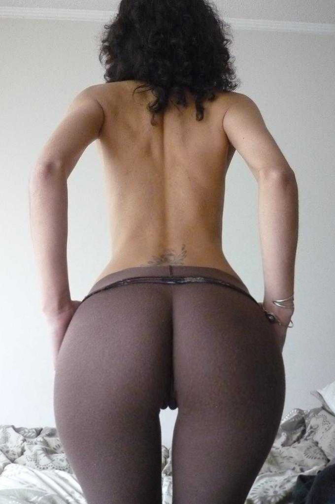 Pantyhose couple sex