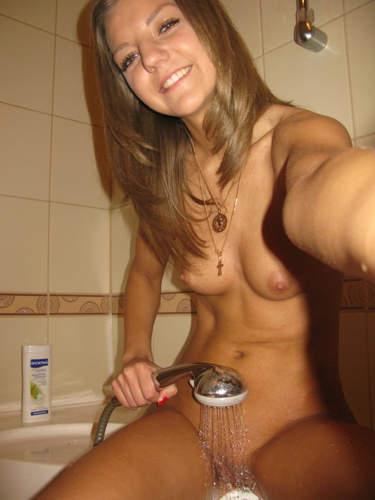 teenage twin naked self shots